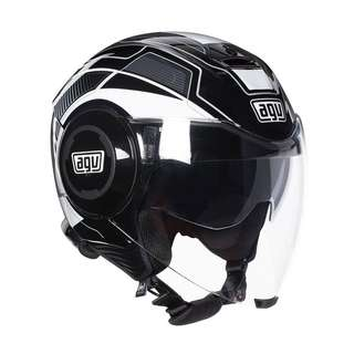 AGV fluid soho black / white / fluo ( 2 colours available )