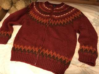 vintage厚冷衫