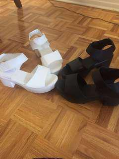 NEW CREEPER PLATFORMS. White only