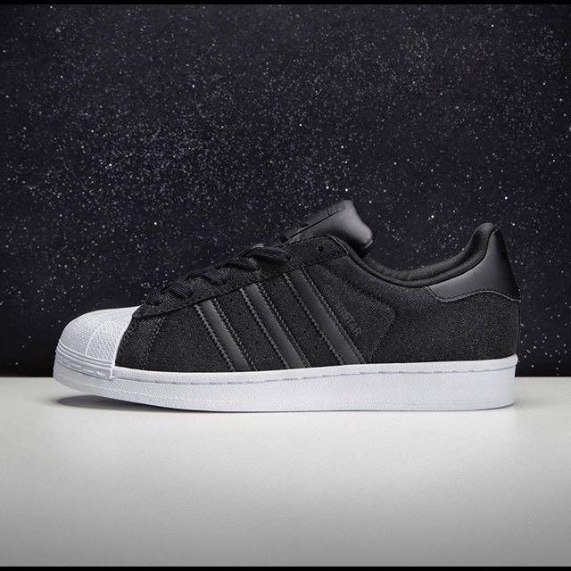 47bc52487a8 Adidas Superstar Glitter Black