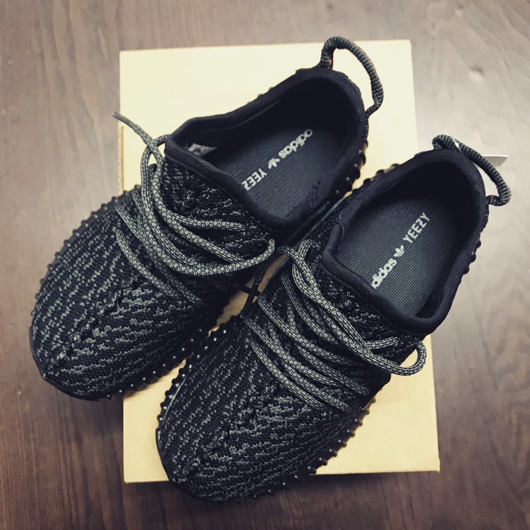 54fb426be13 Adidas Yeezy Boost 350 Infant Pirate Black