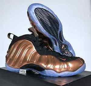 quality design 4a5d7 6b073 Air Foamposite One (Copper) Limited Edition size US9
