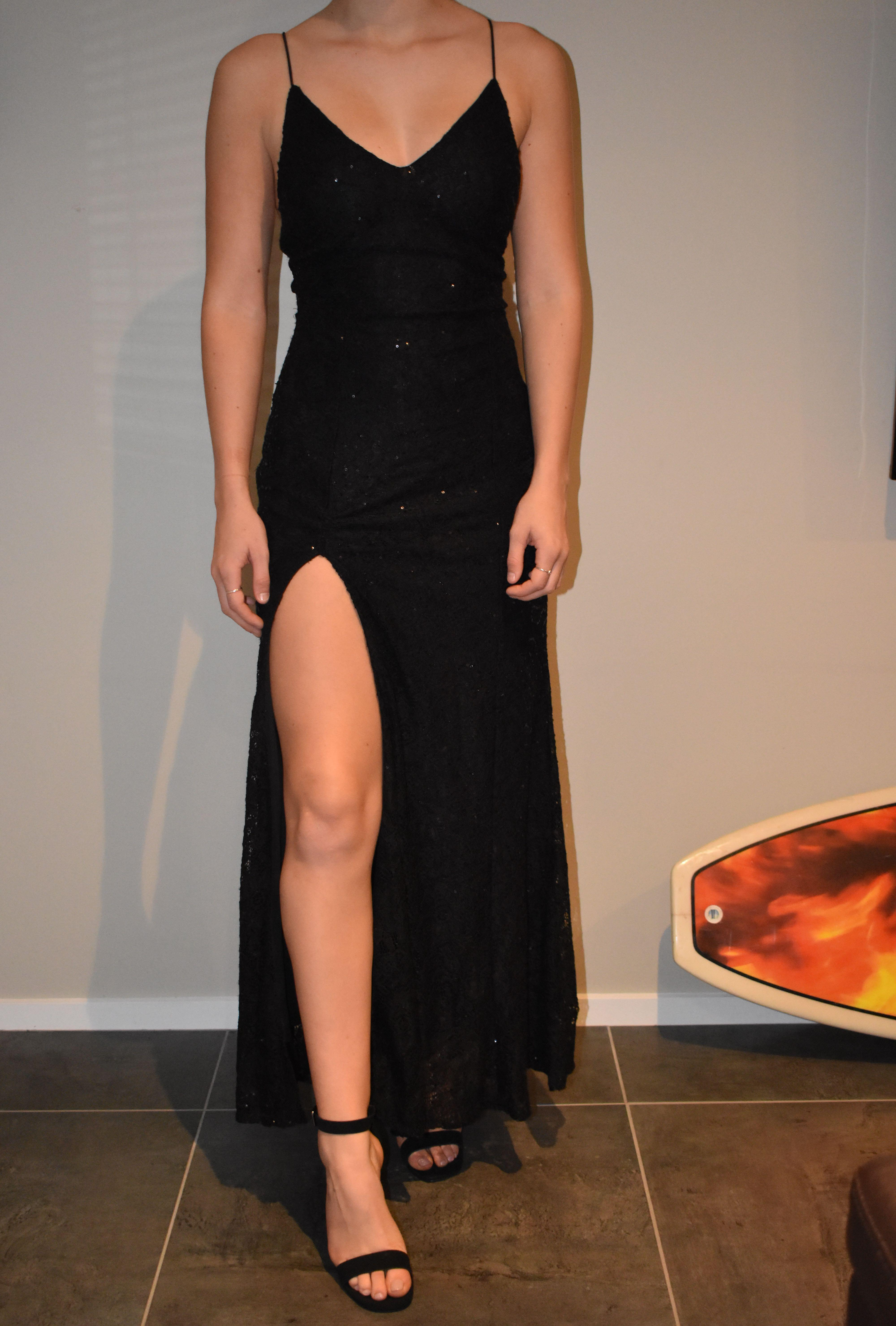 Ball dress and shoes