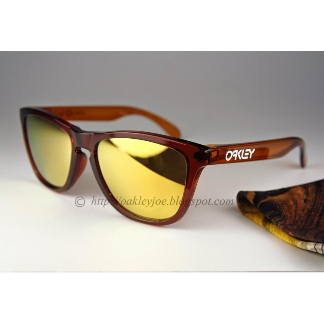3891200676 BNIB Oakley Frogskins Moto Collection nitrous + 24k iridium oo9245 ...