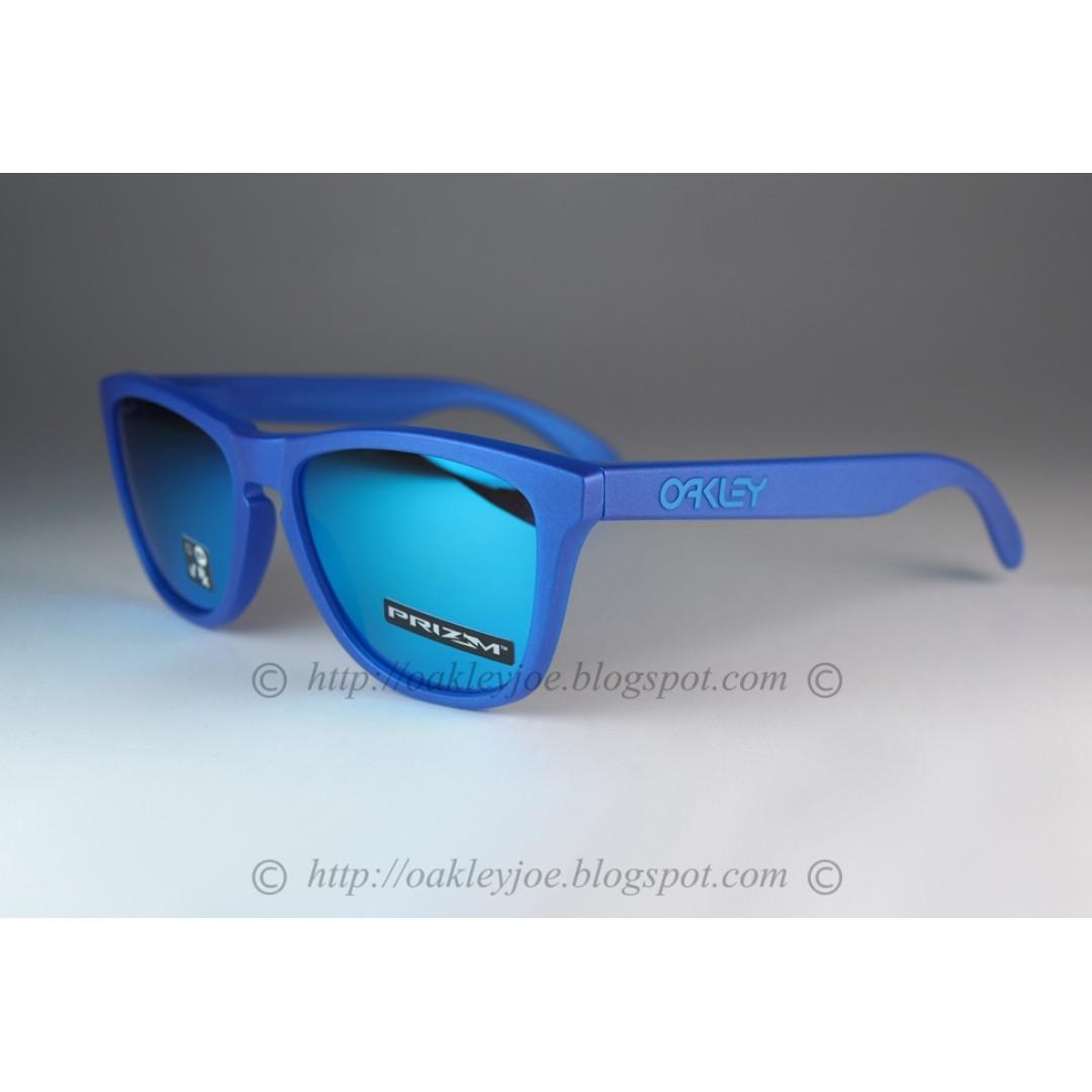 4464521850 BNIB Oakley Frogskins Spectrum Collection xray blue + prizm sapphire ...