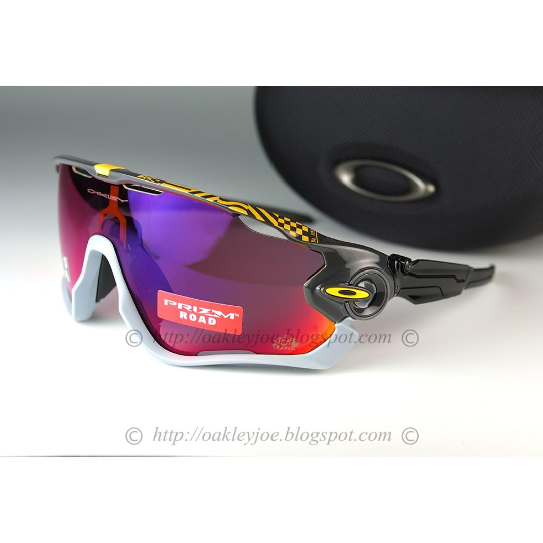 42250f5191 Brand New Oakley Jawbreaker Tour de France carbon + prizm road ...