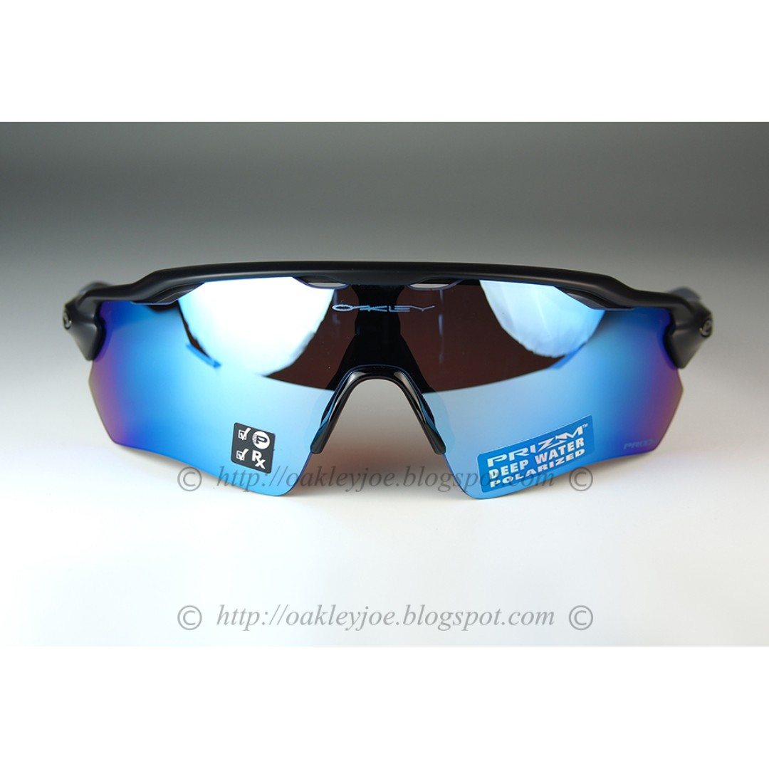90f05a62207b Brand New Oakley Radar EV Path matte black + prizm deep water prizm  polarized oo9208-5538