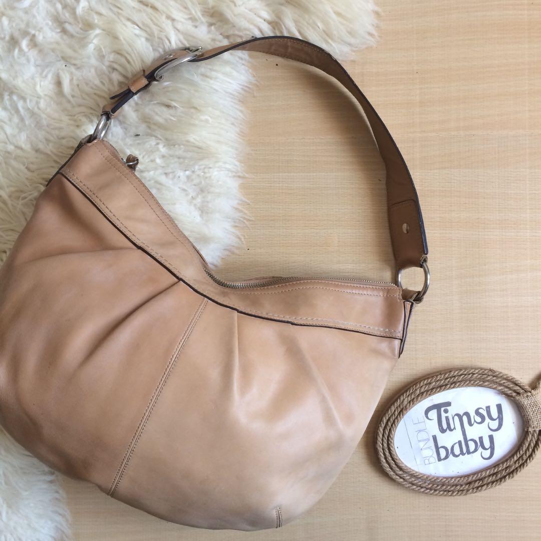 Coach Brown Leather Hobo Shoulder Handbag Women S Fashion Bags Wallets On Carou