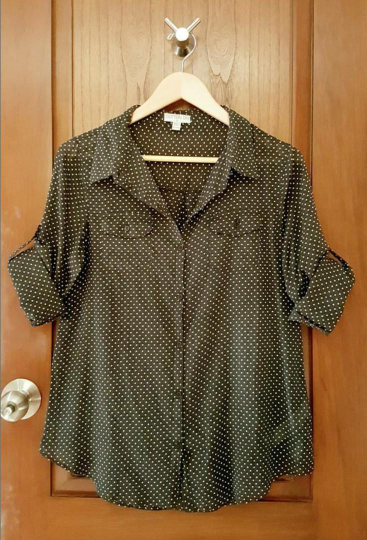 Cotton On Polkadot Shirt