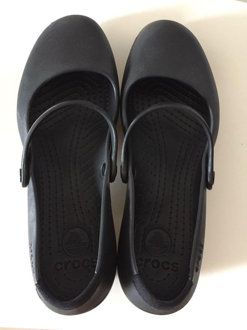 6f08d8572869 Crocs Alice Work (Black)