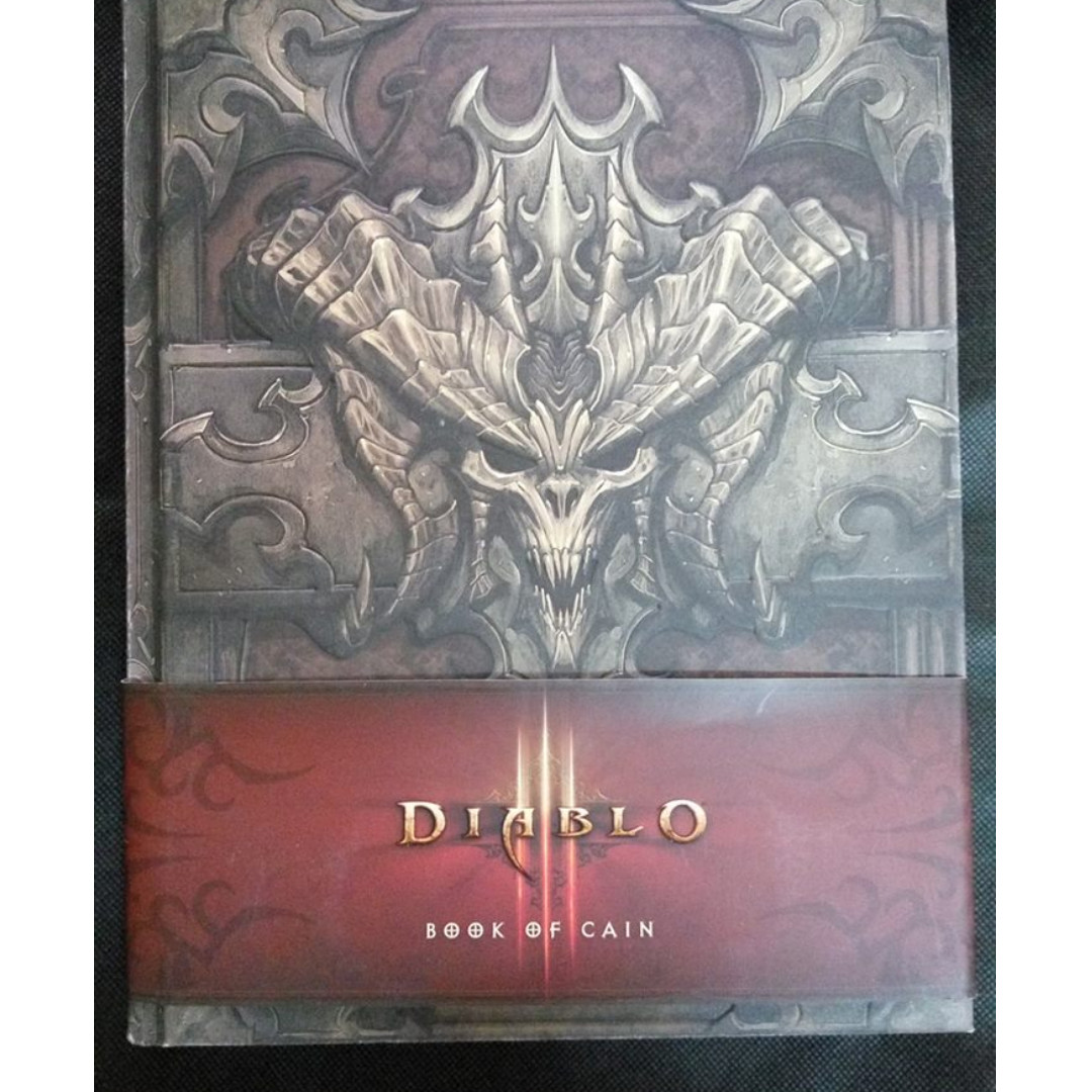 diablo book of cain hardcovered books books stationery