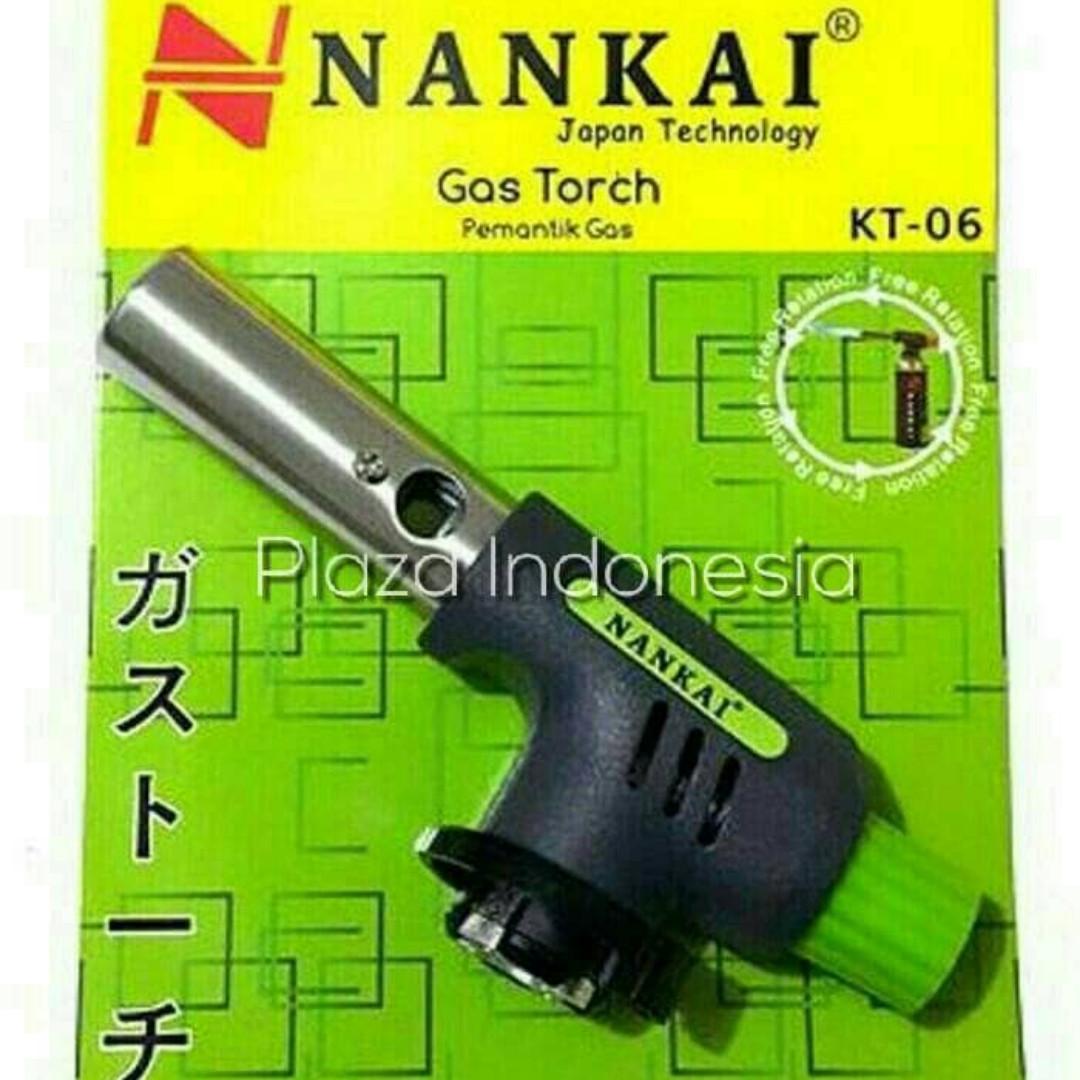 Kepala Gas Torch / Pemantik Api / Alat Las NANKAI KT-06, Property, Others on Carousell