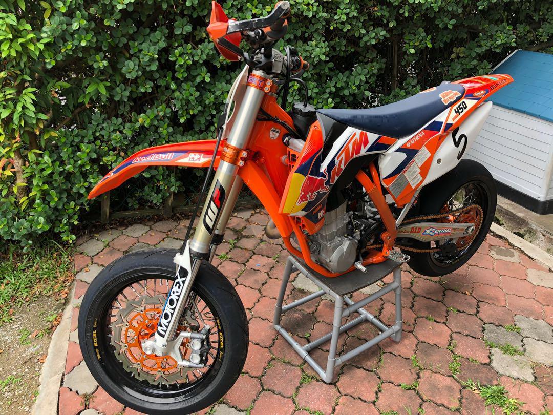 KTM Supermoto 450 (limited unit)