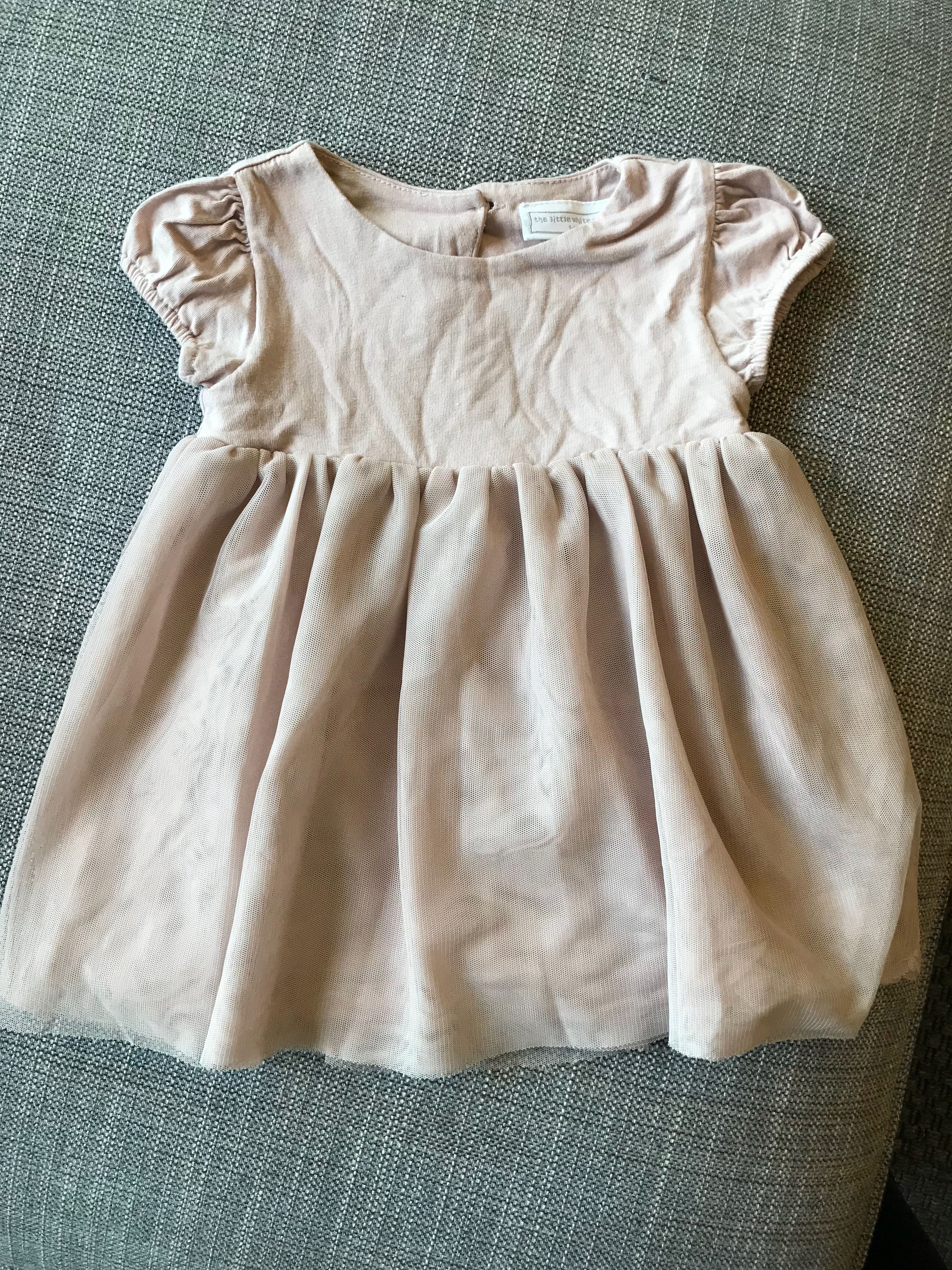 Little white company dress 6-9 months