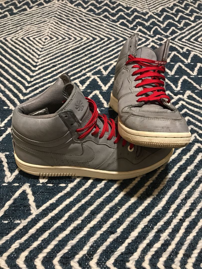 ad54592762c869 Nike Court Force High Lux Ostrich