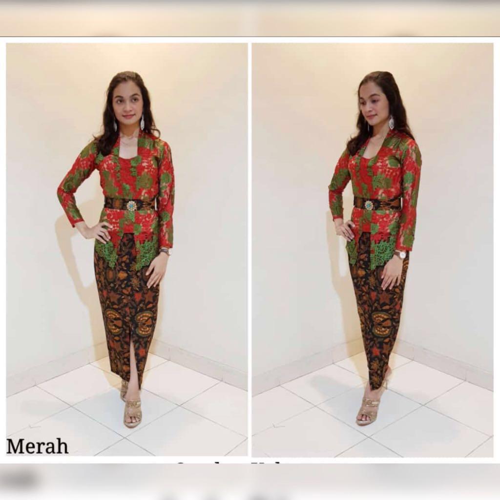 Jfashion Three Tones Long Tunik Jessica Merah Spec Dan Daftar Etchnic Fashion Elegan Shareen Po Set Nabila Red Source Two