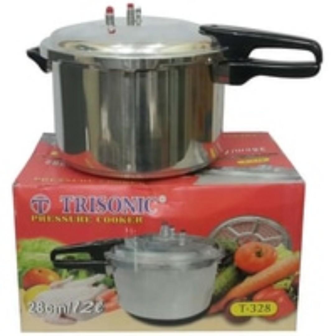 Presto 12 Liter Pressure Cooker Trisonic Anti Karat, Kitchen & Appliances di Carousell