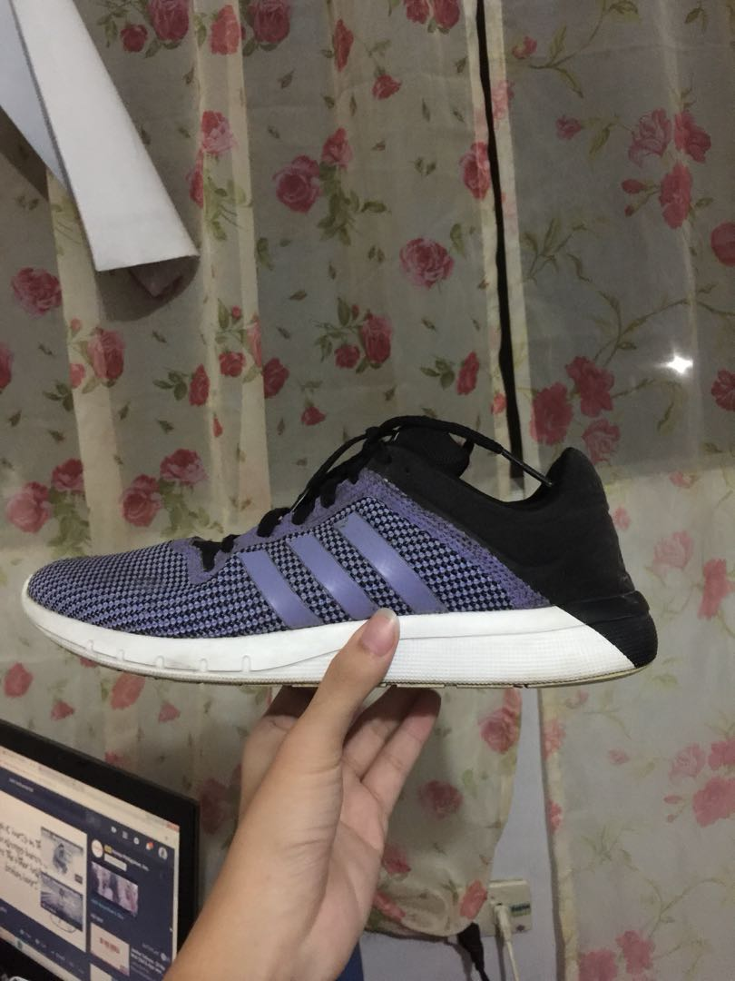 free shipping bbea9 95d30 Purple Adidas Climacool Rubber Shoes, Women s Fashion, Shoes on ...