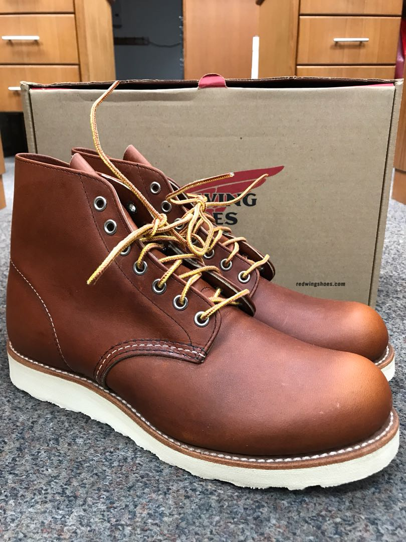 red wing heritage boots round toe 8822 us9d oro legacy men s