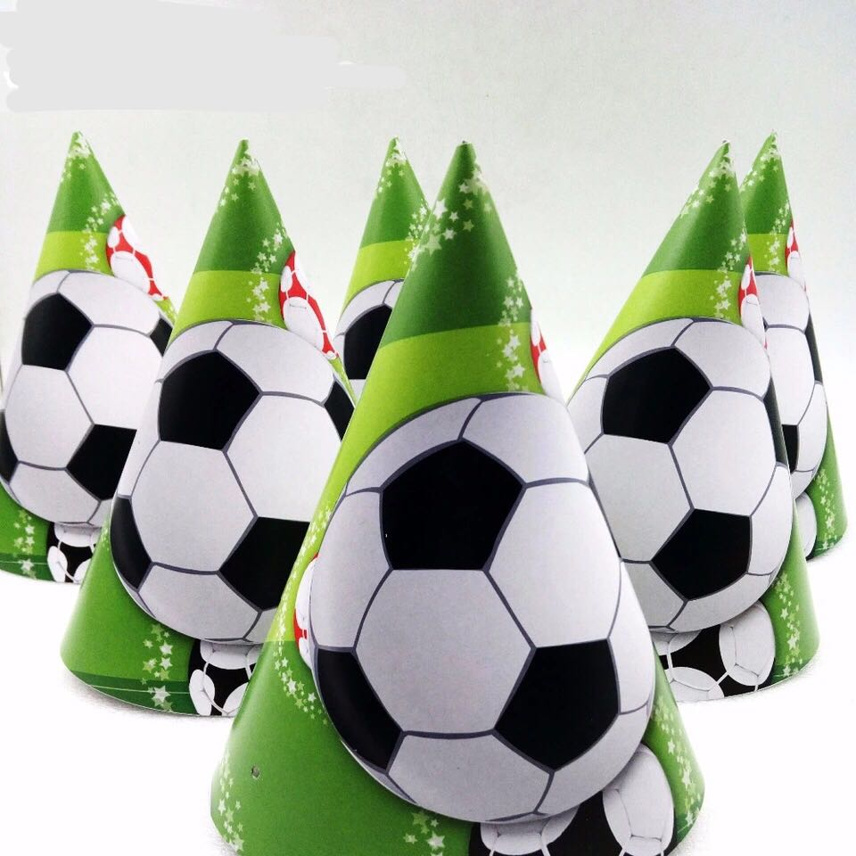 3f551204698782 ⚽️Soccer party supplies - party hats, Design & Craft, Others on ...