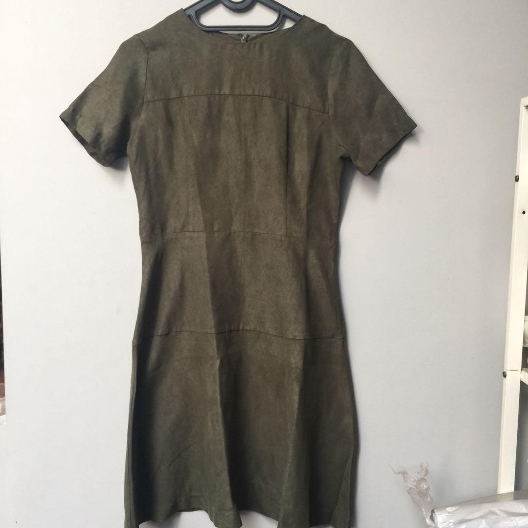 THE EXECUTIVE - green dress