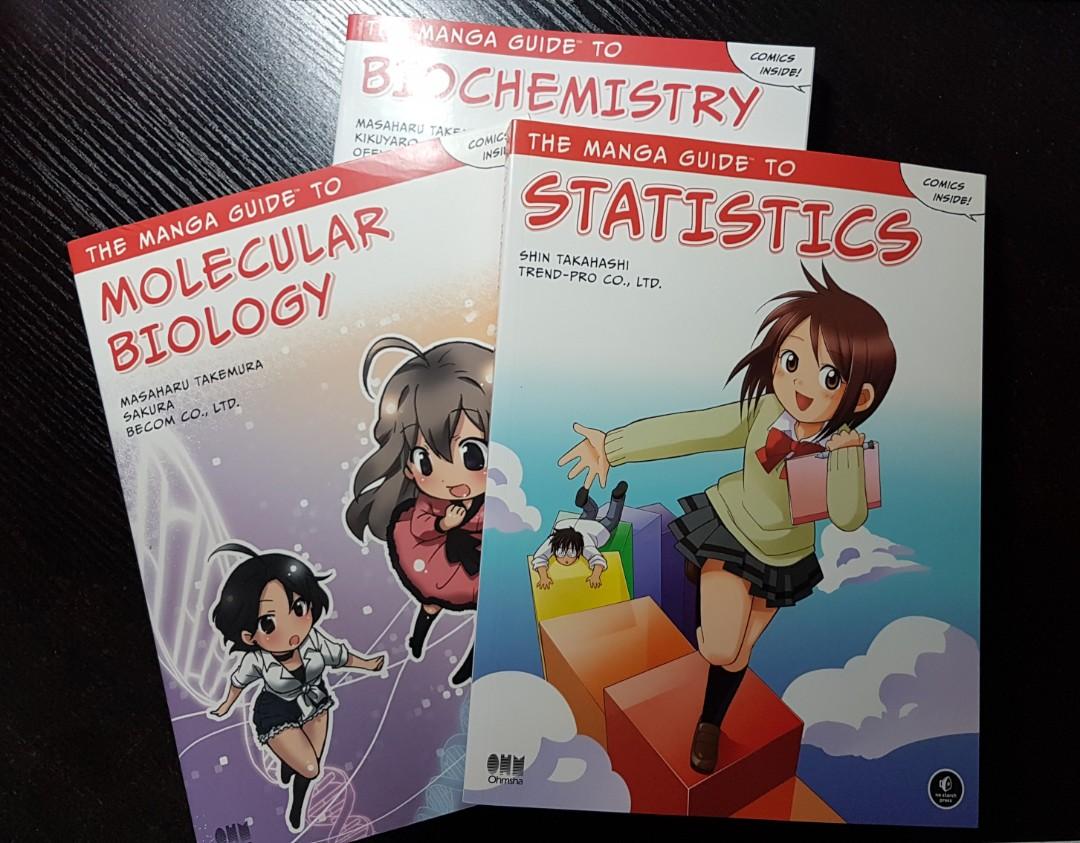 The Manga Guide To Series Books Stationery Textbooks Tertiary