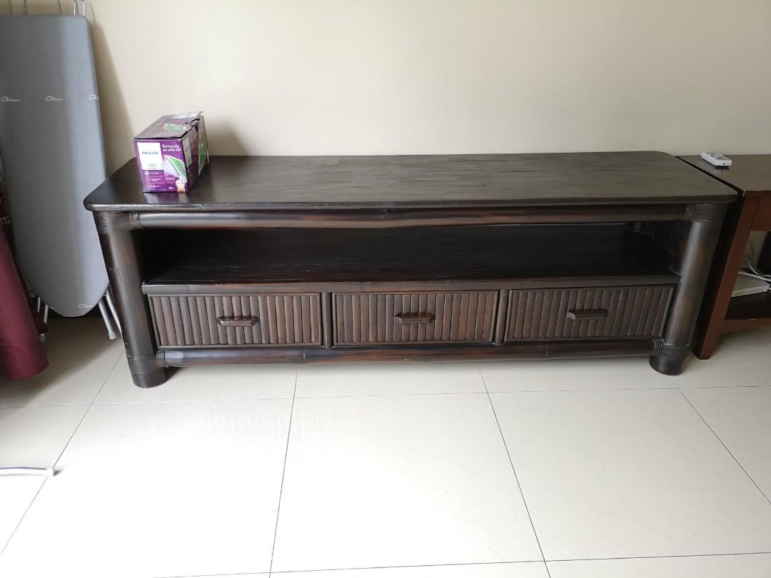 wholesale dealer ceafd 0eee1 TV Console (Rattan Pacific)