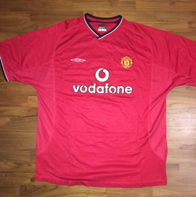 3ce952821 Umbro Manchester United Home Jersey SS - Keane 16 - XL