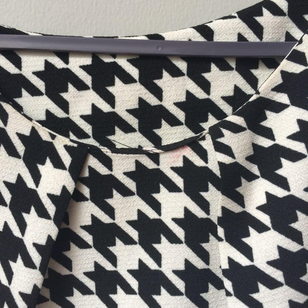 Unbranded - houndstooth dress