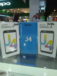 Samsung Galaxy J4 Dicicil Proses hanya 3 menit Promo Dp ringan Free 1x cicilan