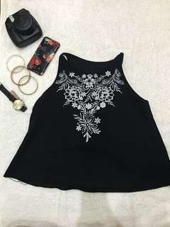 Black Summer Top