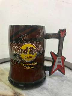 Hard Rock Cafe Guitar Handle Mug