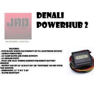 Denali Powerhub2 Fuse Block with Wiring Harness