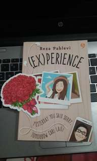 PRELOVED LIKE NEW novel (ex)perience by reza pahlevi