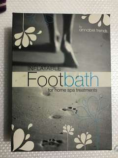 Annabel Trends Inflatable Foot Bath