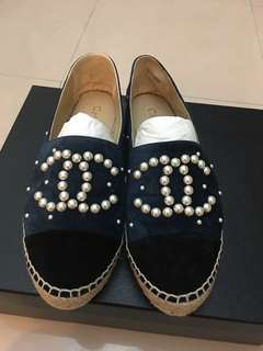 Chanel 漁夫鞋