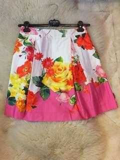Blugirl floral skirt