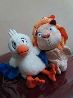 Bird and Merlion Stuffed Toy