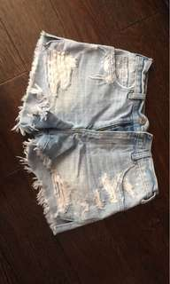 Abercrombie & fitch High rise short