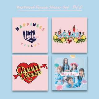 Red Velvet Fanclub Sticker Set