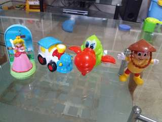 Wind Up Toys McDo Jollibee Toys Bundle