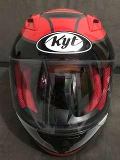 KYT FULL FACE helmet Size L