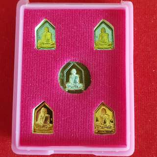 LP Hok Mini Rian Set (Set of 5) / Wat Ratreungsook / BE 2561