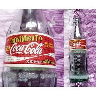 02年西班牙200mL可口可樂活動玻璃吉樽一枝