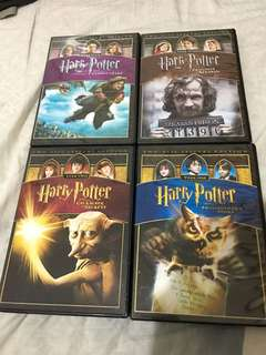 Harry Potter Original DVDs 1-4