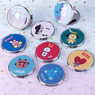BT21 BTS Handy / Useful Makeup Pocket Mirror