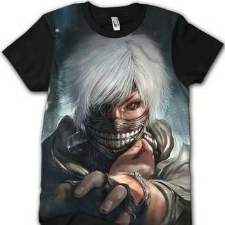 Baju Anak Fullprint Dota Mobile Legend Anime dll