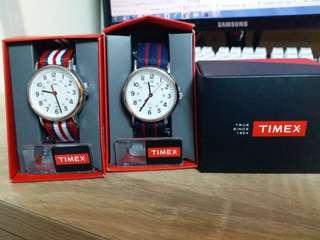 全新貨尾Timex手錶特價發售