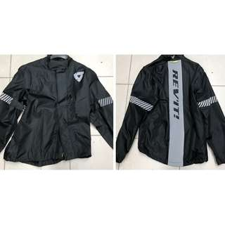 Rev'It! Riders Raincoat (Black) - Brand New / Instock
