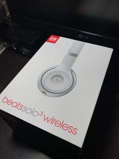 香港行貨 有保養 Beats Solo3 Wireless 95% new